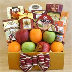 Thanksgiving Fruit & Gourmet Gift Box