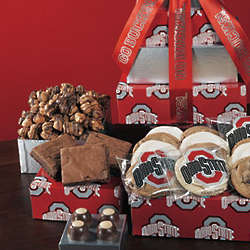 OSU Scarlet and Grey Gift Tower