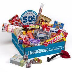 1950s Nostalgic Candy Box