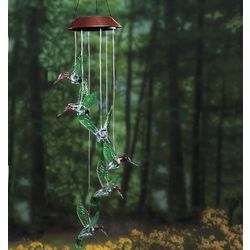 Solar Colorful Hummingbird Mobile