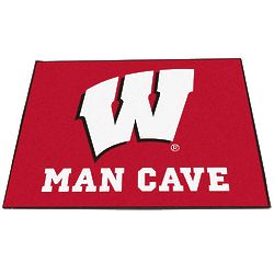 University of Wisconsin Man Cave Mat
