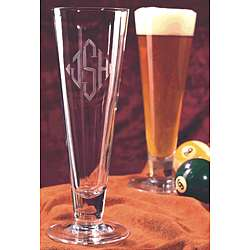 The Euro Pilsner Crystal Beer Glass Set