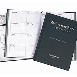 Personalized New York Times Football Planner