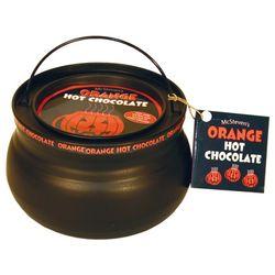Orange Hot Chocolate Cauldron Tin