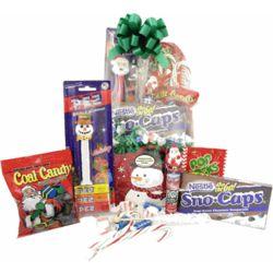 Christmas Candy Gift Basket