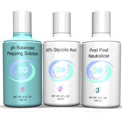 Glycolic Acid Rapid Exfoliating Peel Kit