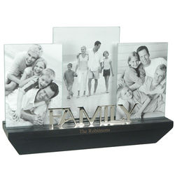Mini Wall Shelf Family Photo Frame