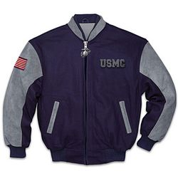 Men's Proud To Be A Marine USMC Jacket