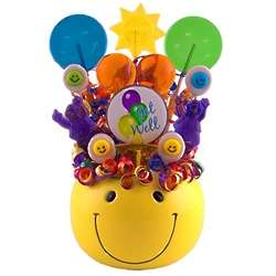 Get Well Smiles Lollipop Bouquet