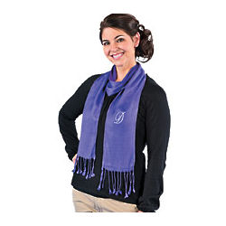 Personalized Purple Scarf
