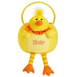 Chick Personalized Leggy Easter Basket