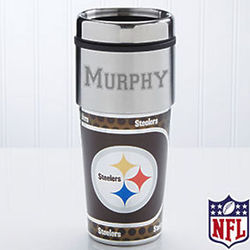 Personalized Pittsburgh Steelers Travel Mug