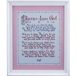 Prayer for Little Girl Framed Print