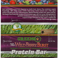 Wild Berry Burst Protein Bar