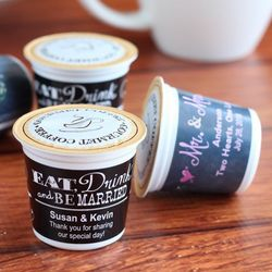 K-Cup Personalized Coffee Favors