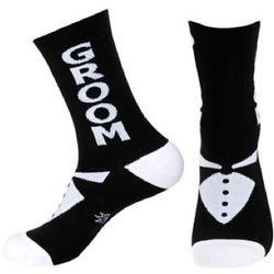 Groom Tuxedo Design Crew Socks