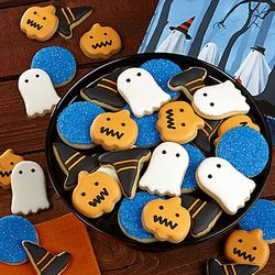 Halloween Fancy Decorated Cookie Gift Box