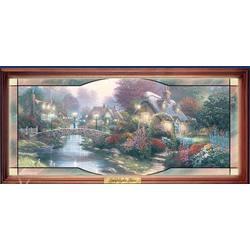 Thomas Kinkade's Garden of Light Panorama
