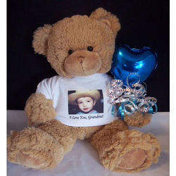 Personalized Photo Teddy Bear