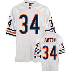 Walter Payton White NFL Premier Throwback Chicago Bears Jersey
