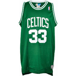 Larry Bird Boston Celtics Autographed Adidas Swingman Jersey