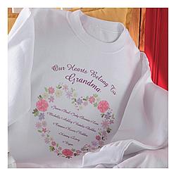 Floral Heart Sweatshirt
