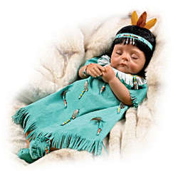 Pocahontas Birth of A Princess Baby Doll