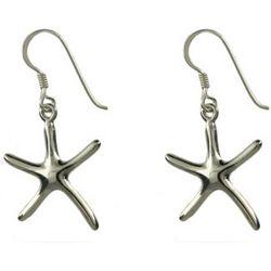 Tiffany Inspired Single Starfish Drop Earrings