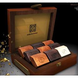 Emerald Deluxe Mahogany Box of French Chocolates