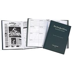 Personalized New York Times Baseball Planner