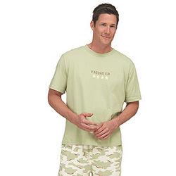Short Sleeved Fatigued Pajamas