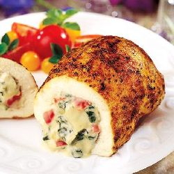 Chicken Breasts Stuffed with Artichoke Parmesan