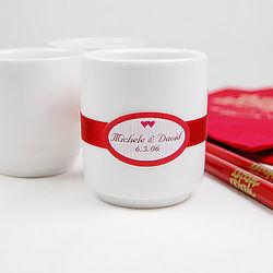 White Sake Cup