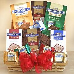 Deluxe Ghirardelli Chocolate Rush Gift Box