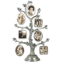 Family Tree Metal Photo Frame