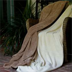 Gotcha Covered Super Plush Full/Queen Oatmeal Blanket