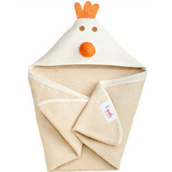 Chicken Organic Hooded Towel