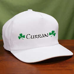 My Irish Name Personalized Hat