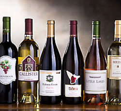 California Red and White Wine Collection