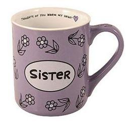 Sister Heart Warmer Mug