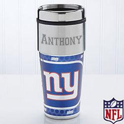 Personalized New York Giants Travel Mug