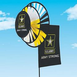 Military Wind Spinners Army