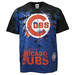 Chicago Cubs Tie Dyed T-Shirt