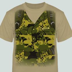 Soldier Tuxedo T-Shirt