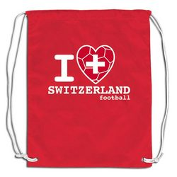 I Heart Switzerland Sackpack