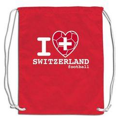 I Heart Switzerland Sackpack