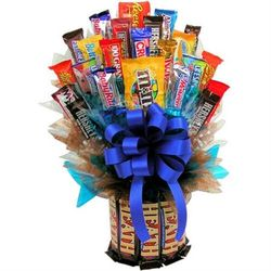 Deluxe Heath & More Candy Bouquet