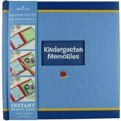 Kindergarten Instant Memory Scrapbook