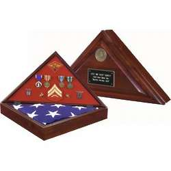 Heritage Flag Case with Sevice Medallion