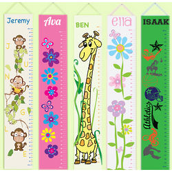 Personalized Height Growth Chart